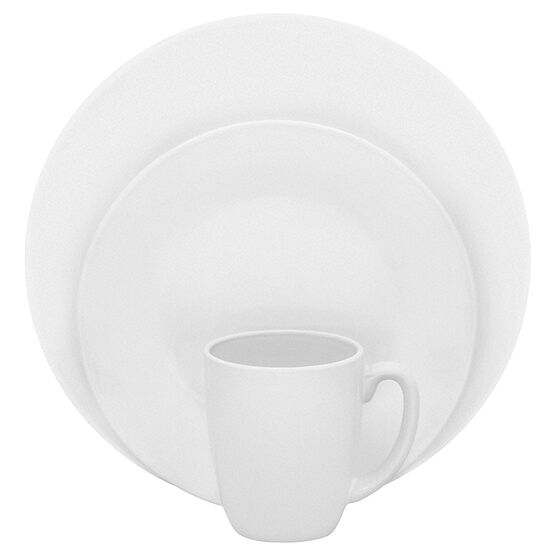 Corelle Vive Dazzling White Dinnerware Set - White - 16 piece