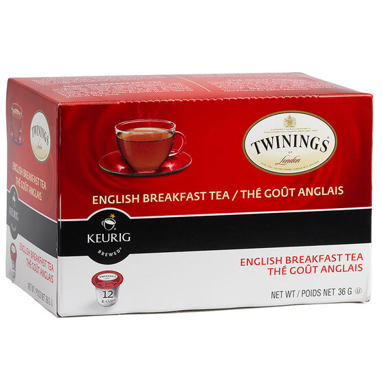 K-Cup Twinings Tea - English Breakfast - 12 Servings