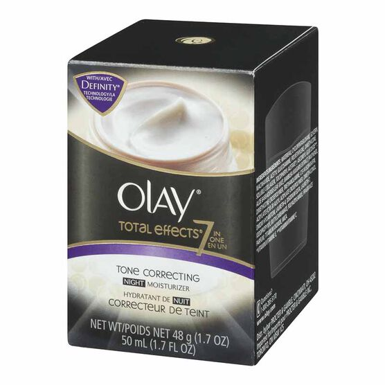 Olay Total Effects 7-in-1 Tone Correcting Night Moisturizer - 48g