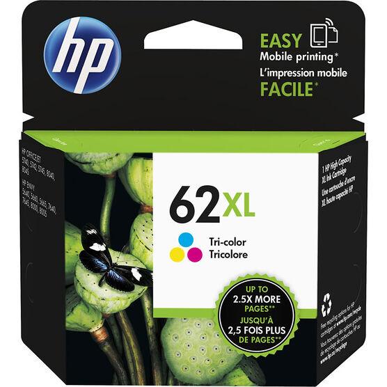 HP 62XL High Yield Original Ink Cartridge - Tri-Colour - C2P07AN#140