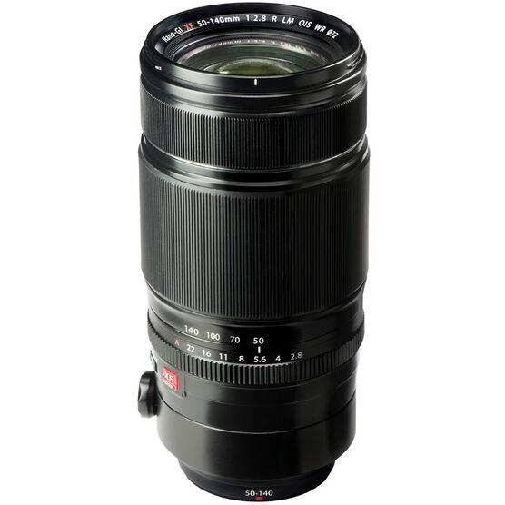 Fuji XF50-140mmF2.8 R LM OIS WR Lens - Black - 600015125