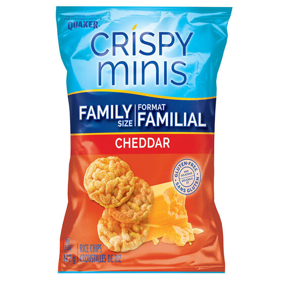 Quaker Crispy Minis - Cheddar - 172g