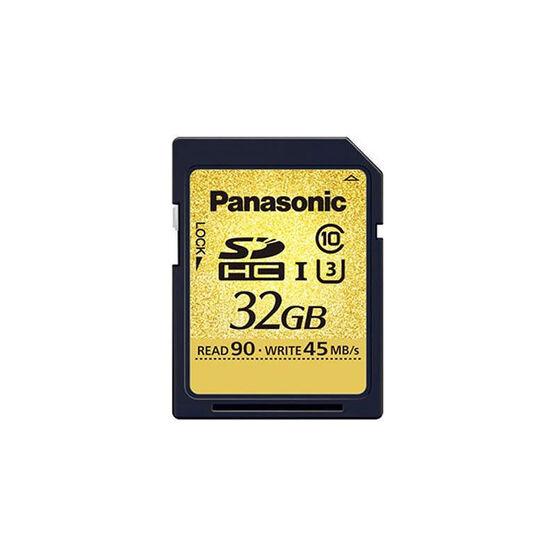 Panasonic Class 10 SDHC Memory Card - 32GB - RPSDUC32GAK