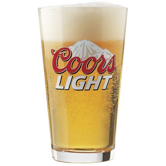 Libbey Coors Light Glass Set - Clear - 4 x 473ml