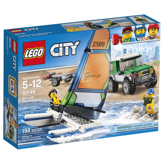 Lego 4 x 4 With Catamaran - 60149