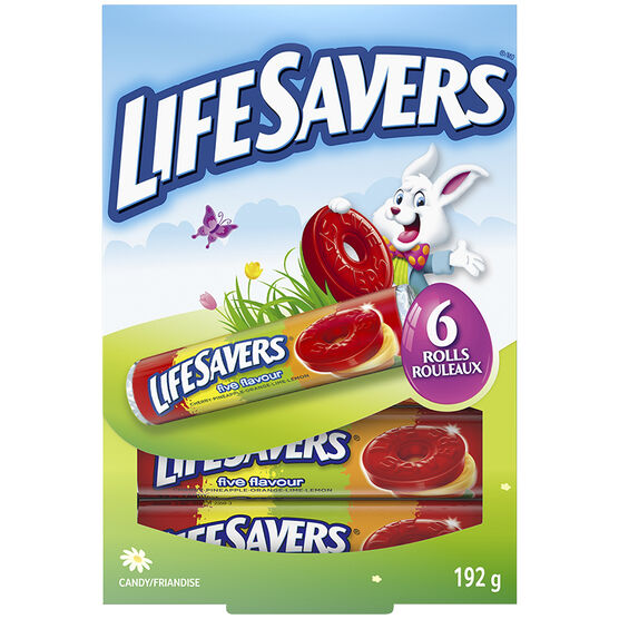 Lifesavers Easter Funbook - 192g