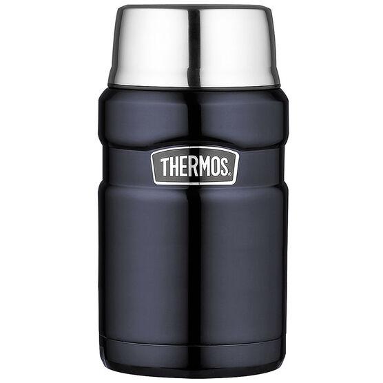 Thermos Vacuum Food Jar - Blue - 710ml