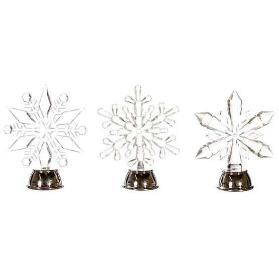 "Danson LED Acrylic Snowflake - Assorted - 5"""