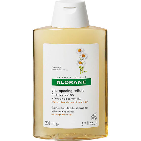 Klorane Golden Highlights Shampoo with Chamomile Extract - 200ml