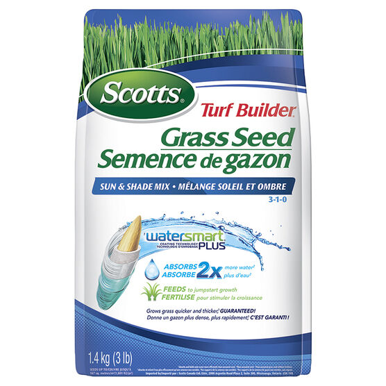 Scott's Turf Builder Sun & Shade Grass Seed Mix - 1.4kg - SC1-12550