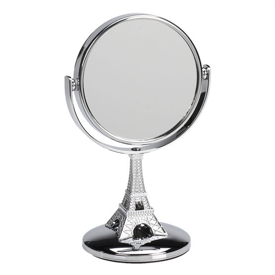 Danielle Eiffel Tower Vanity Mirror - Mini - Chrome - 4x