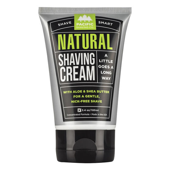 Pacific Shaving Company Natural Shaving Cream - 100ml