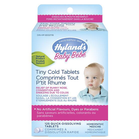 Hyland's Tiny Cold Tablets - 125's