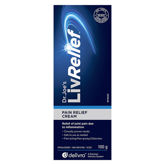 LivRelief Pain Cream - 100g