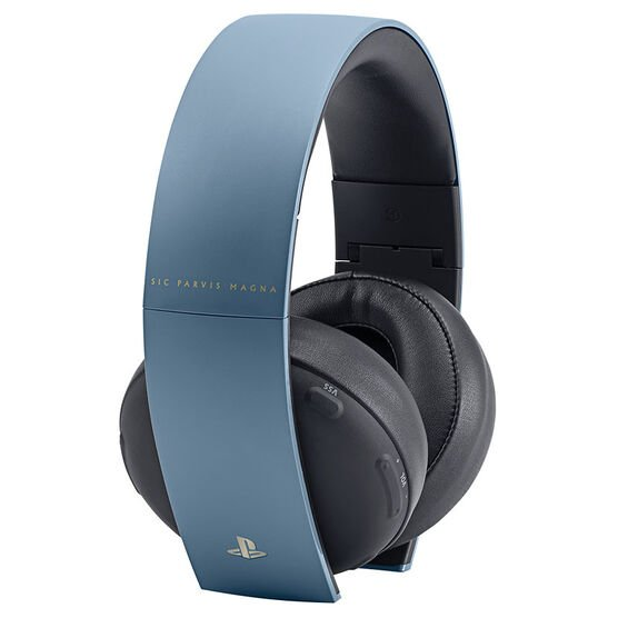 PS4 Uncharted 4 Limited Edition Gold Headset - Gray Blue