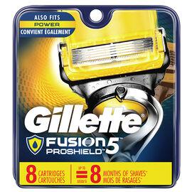 Gillette Fusion5 Proshield Razor Blades - 8's