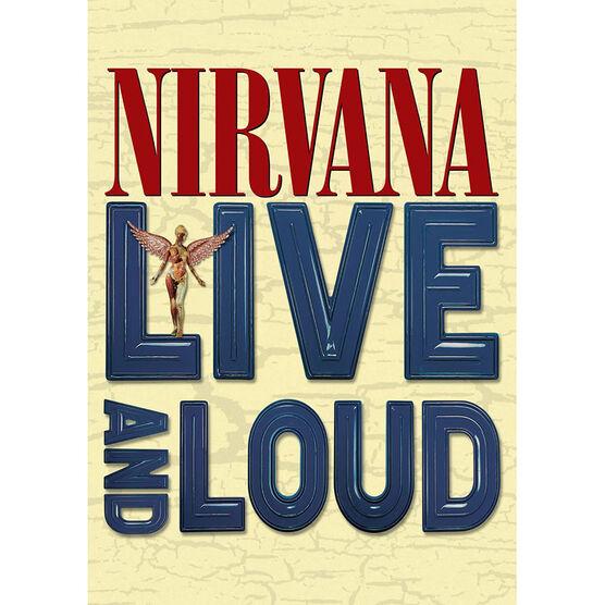 Nirvana - Live and Loud - DVD