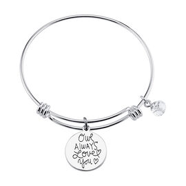 Unwritten Owl Bangle