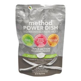 Method Dishwasher Tabs - Lemon Mint - 20's