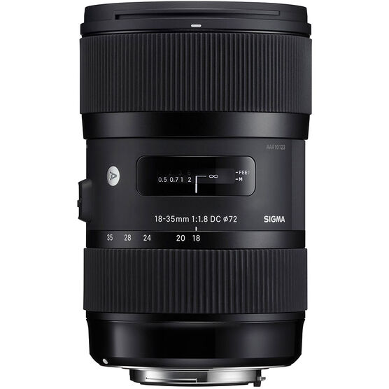 Sigma Art DC 18-35mm F1.8 DC HSM Lens for Canon - A1835DCHC