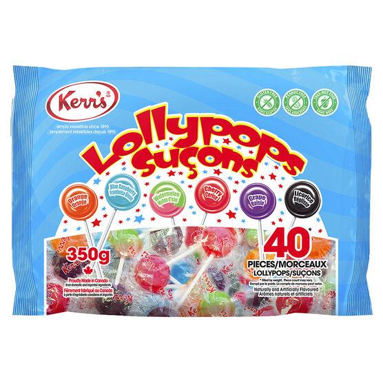 Kerr's Lollypops - 38's/350g