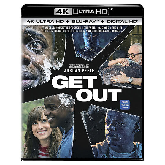 Get Out - 4K UHD Blu-ray