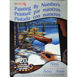 Reeves Paint by Numbers - Canoe