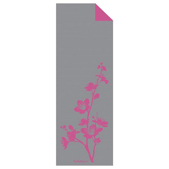 Purathletics Yoga Mat - Grey/Pink