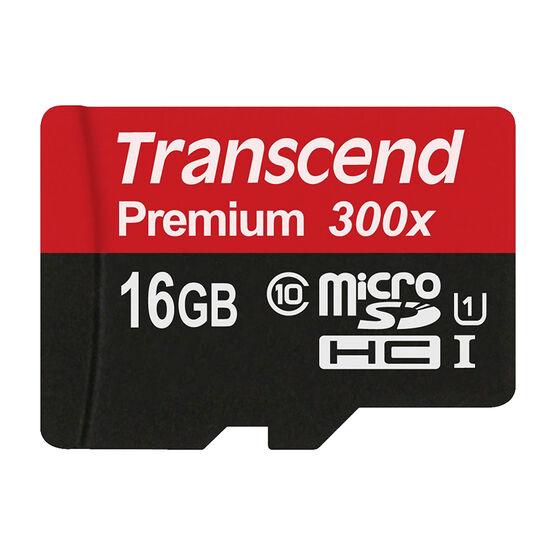 Transcend 300X 16GB microSDHC - TS16GUSDU1