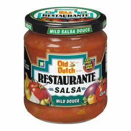 Old Dutch Restaurante Salsa - Mild - 430ml