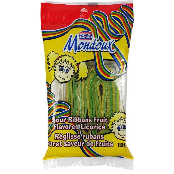 Mondoux Sour Fruit Ribbons - 125g