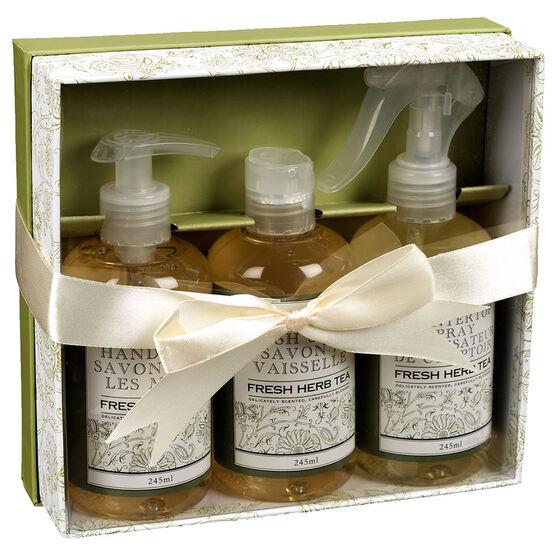 The Kitchen Kit Set - Fresh Herb Tea - 3 piece