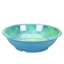 London Drugs Melamine Shallow Bowl - Teal - 7in