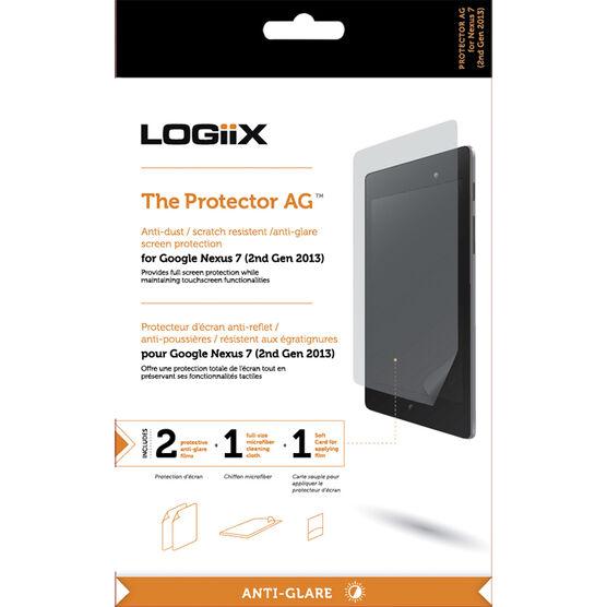 Logiix Anti-Glare Screen Protector for Google Nexus 7 - Clear - LGX-10771