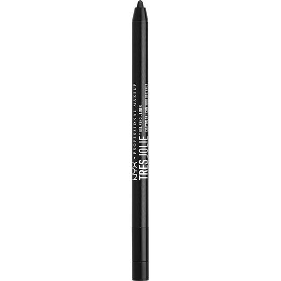 NYX Professional Makeup Tres Jolie Gel Pencil Liner - Pitch Black