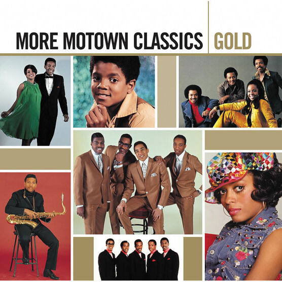 Various Artists - More Motown Classics Gold - 2 CDs