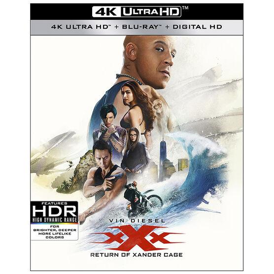 xXx: Return of Xander Cage - 4K UHD Blu-ray