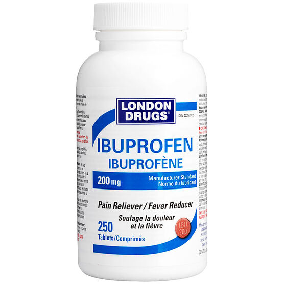 London Drugs Ibuprofen - 200mg/250's