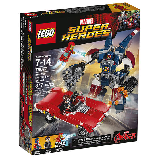 Lego Super Heroes Iron man: Detroit Steel Strikes - 76077