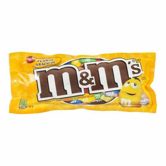 M&M's - Peanut Chocolate Candy - 49g