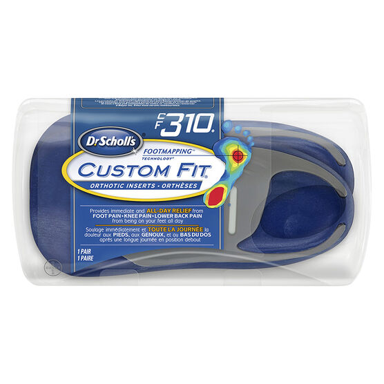 Dr. Scholl's Custom Fit Orthotic Insoles - CF310 - M6.5/W7.5
