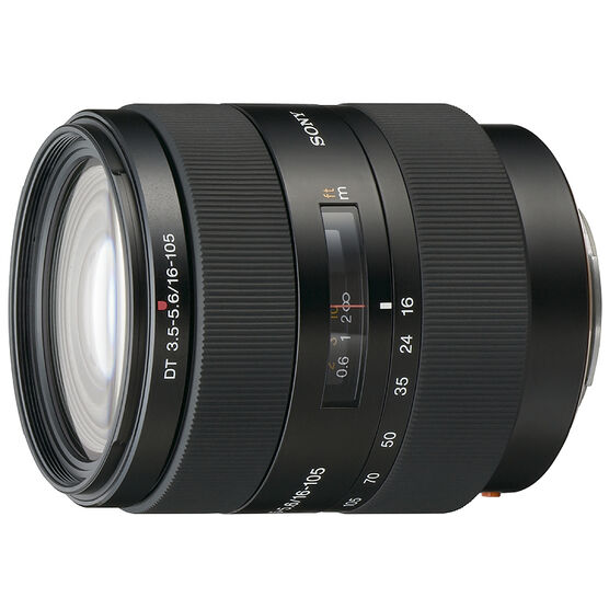 Sony 16-105mm f/3.5-5.6 DT Zoom Lens - SAL16105