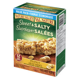 Nature Valley Chewy Nut Bars - Peanut - 12 Bars