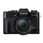 Fujifilm X-T20 with 16-50mm XC Lens - Black - 600018094