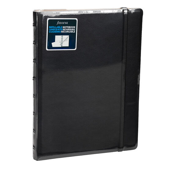 Filofax Refillable Notebook - Black - 112 Pages