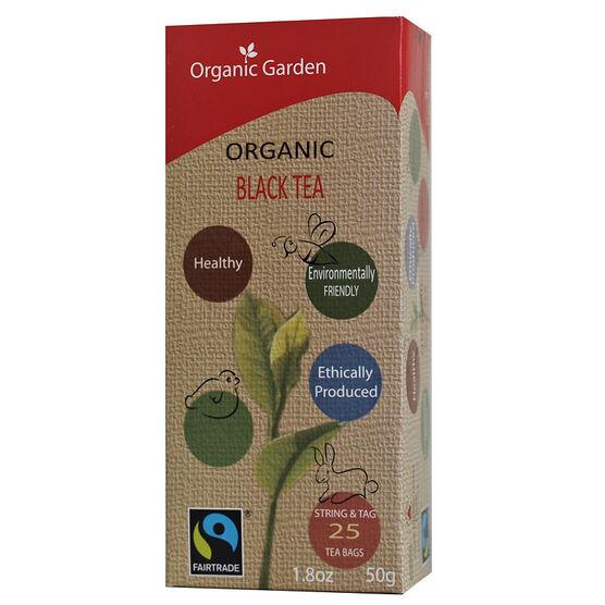 Organic Garden Black Tea - 25's