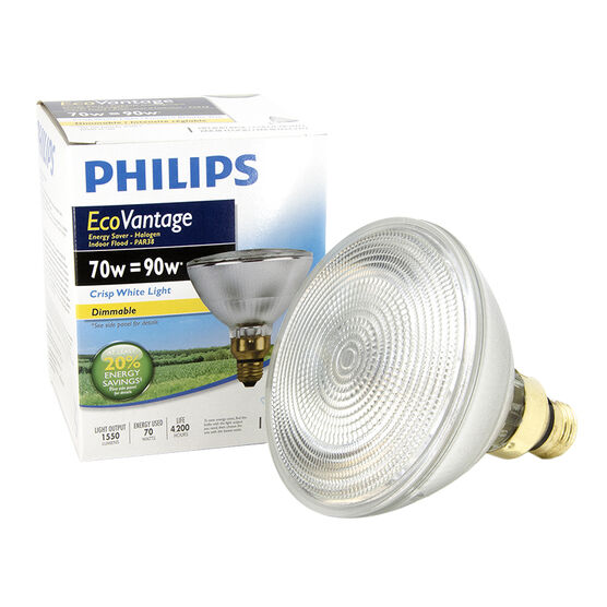 Philips 70W PAR38 Ecovantage Light Bulb - Flood - 1 pack