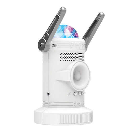 Ion Party Bot Micro Speaker - White - IRB02