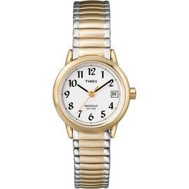 Timex Dress Women's Watch - White/Gold - 2H381