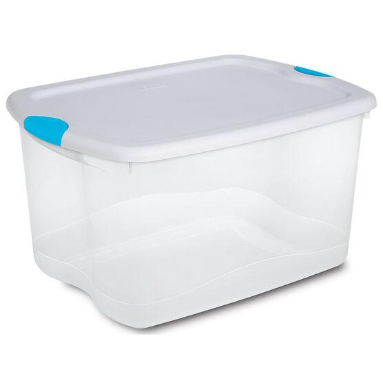 Sterilite Latch Box - Clear - 62.5L